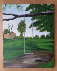Acrylic on Canvas 16 x 20 2014